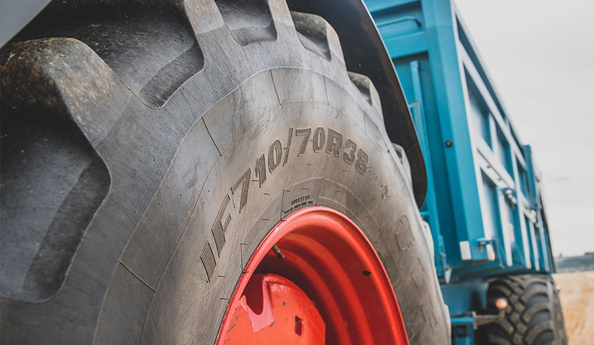 Standard tyres, IF tyres or VF tyres