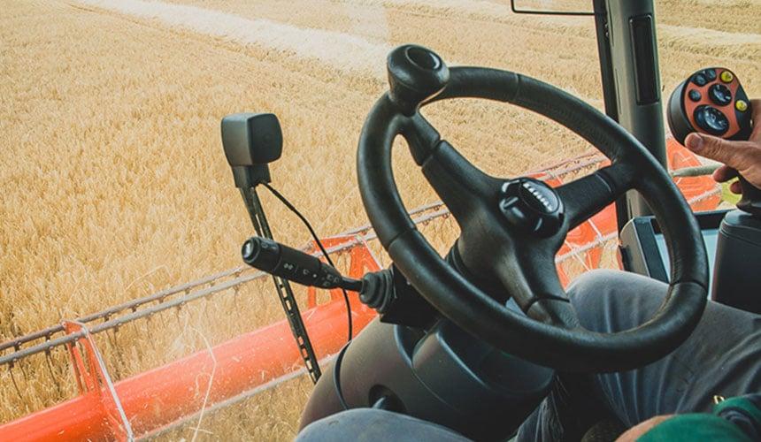Matching harvesting tyres = time saving