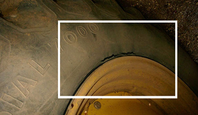 consequences of under-inflating tractor tyre