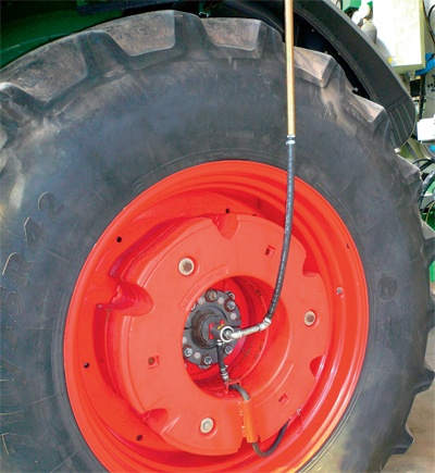 Central tyre inflation system