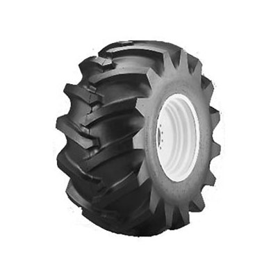 Forestry tyre for forestry work