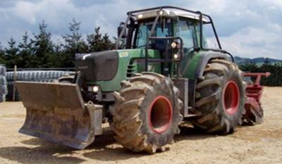 Pneu de tracteur forestier