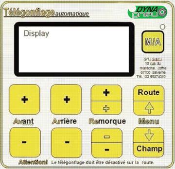Exemple de module de contrôle électronique