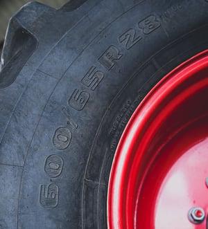 Marquage pneu de tracteur ETRTO